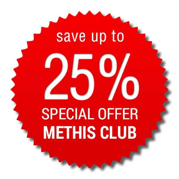 Offerta Speciale Methis Club > risparmi fino al 25%!